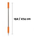 DM454 Telescopic handle 152cm - 274cm